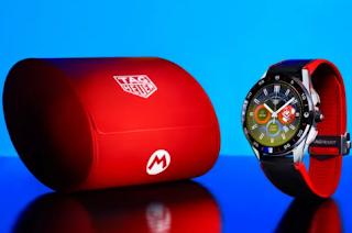 تعاون Super Mario و Tag Heuer هو ساعة Wear OS بقيمة 2،150 دولارًا
