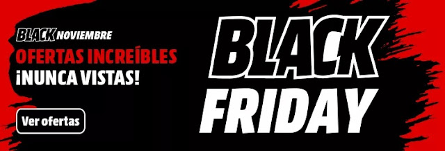 Top 30 ofertas folleto Black Friday, Black Noviembre de Media Markt