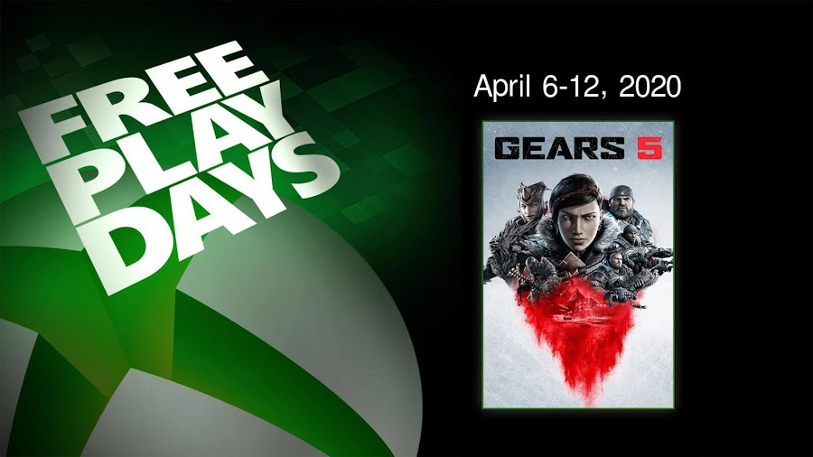 gears 5 xbox live gold free play days event third-person shooter coalition xbox game studios xbox one