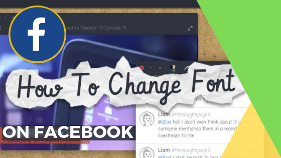 Change Font On Facebook<br/>