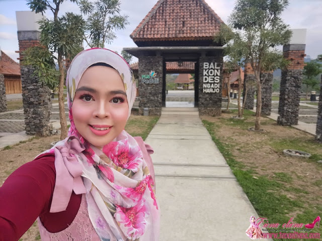 Balkondes Ngadiharjo Guesthouse di Borobodur, Magelang, Central Java Indonesia