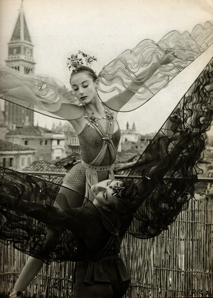 Gorgeous Vintage Ballet Photography by Serge Lido