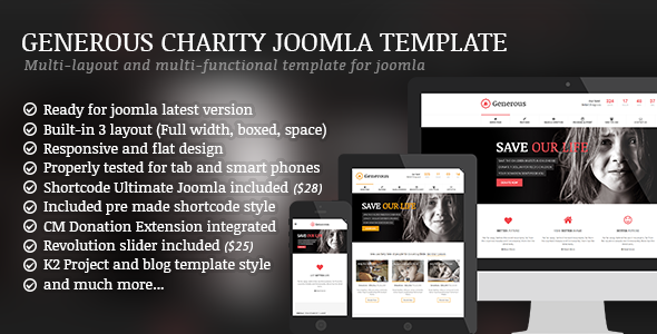 Best New Premium Joomla Template
