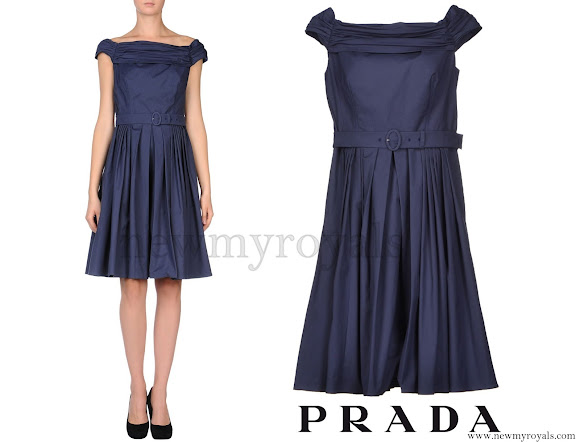 Princess Sofia wore PRADA Knee-length dress