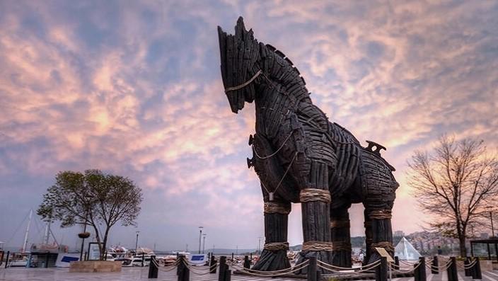 Türkiye'nin unesco dünya miras listesine giren ilk 10 yeri troya antik kenti