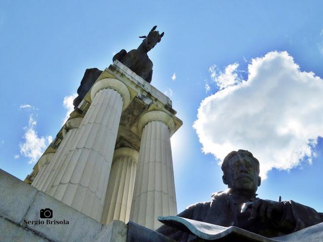 Monumento a Ramos de Azevedo (fotocomposição)