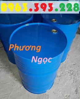 Thùng phuy sắt 220L nắp kín, thùng phuy đựng dầu, thùng phuy 2 nắp nhỏ 9fc64a3e965e6d00344f