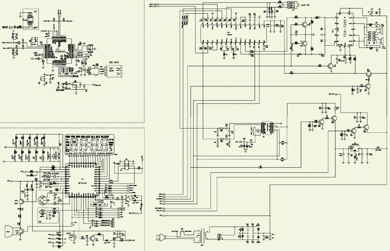 Electro Help 05 23 14 Toshiba 1600 Xp Wiring Diagram Click On The Schematic To Zoom In