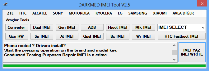 Moto G XT1033 XT1034 XT1069 IMEI Repair DARKMED ~ DARKMED
