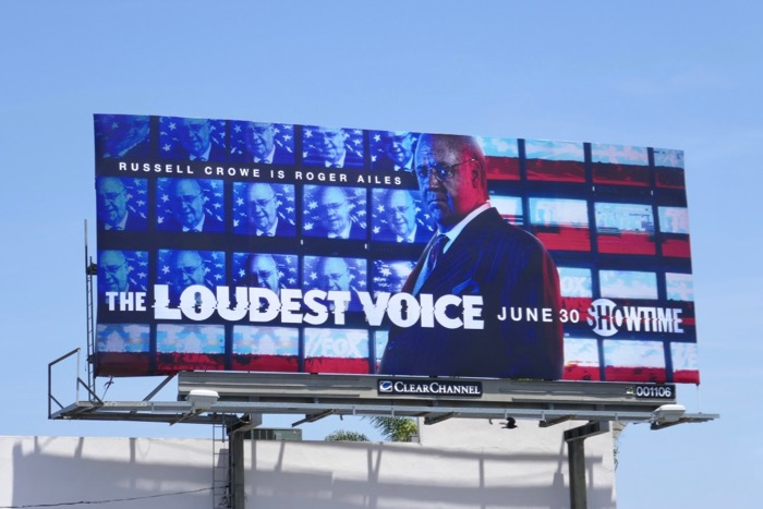 Loudest Voice miniseries billboard