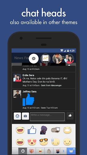 تحميل تطبيق Swipe Pro for Facebook v8.1.3  Apk الفايسبوك و المسنجر في تطبيق واحد