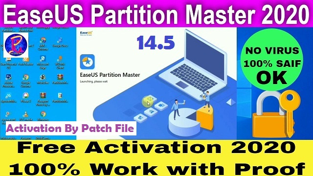 EASEUS Partition Master All Editions 14.5 + Activation 100% Free Patch File