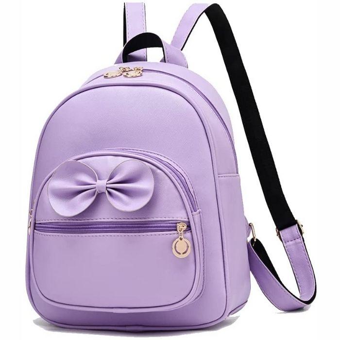Cute Mini Leather Backpack Fashion USA