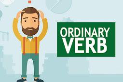 ORDINARY VERB (Pengertian, Contoh, Ciri, dan Macamnya) LENGKAP