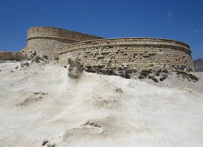 Castillo de San Felipe en Cabo de Gata