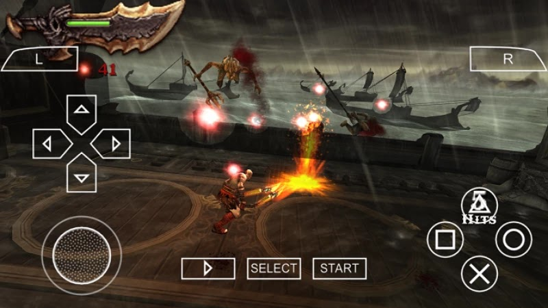 GOD OF WAR GHOST OF SPARTA PSP ISO USA