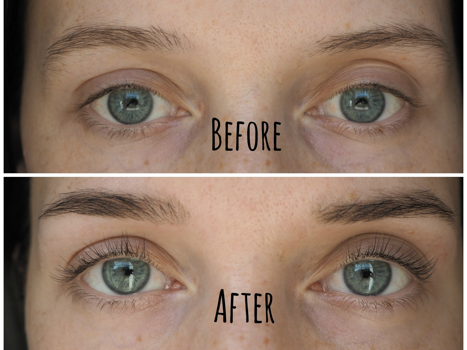 LVL Lash Lift Review - Before and After Photos, Life in Excess Blog, LVL Lashes Dubai