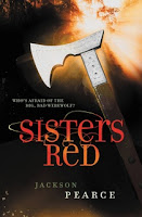 book cover of Sisters Red by Jackson Pearce published by LBTeen