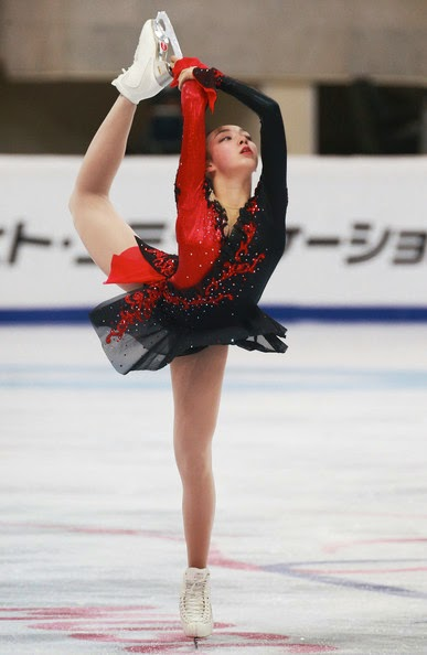 Ice Style 2014 Rostelecom Cup Figure Skating Costumes