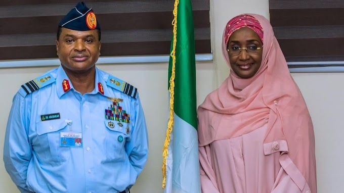Nigeria Chief of Air Staff marries Humanitarian Affairs Minister
