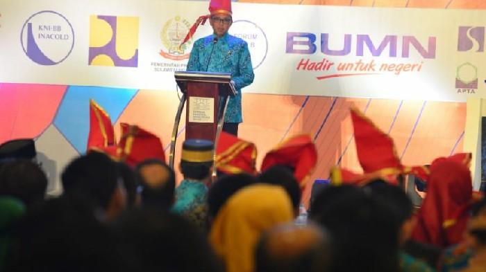 Nurdin Abdullah: Sulsel Siap Jadi Penyangga Ibu Kota Baru