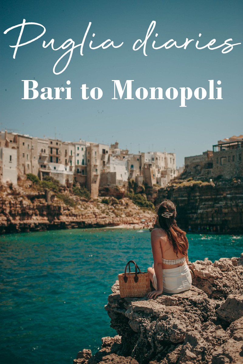 Puglia guide: from Bari to Monopoli