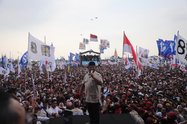 Jutaan Rakyat Bogor Hadiri Kampanye 02, TGB dan RK Gagal Total?