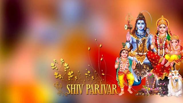 Lord Shiva Wallpaper In Shiva Parivar