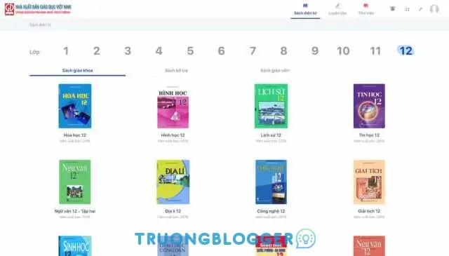Tải về trọn bộ sách giáo khoa từ lớp 1 tới lớp 12 bởi NXB Giáo Dục