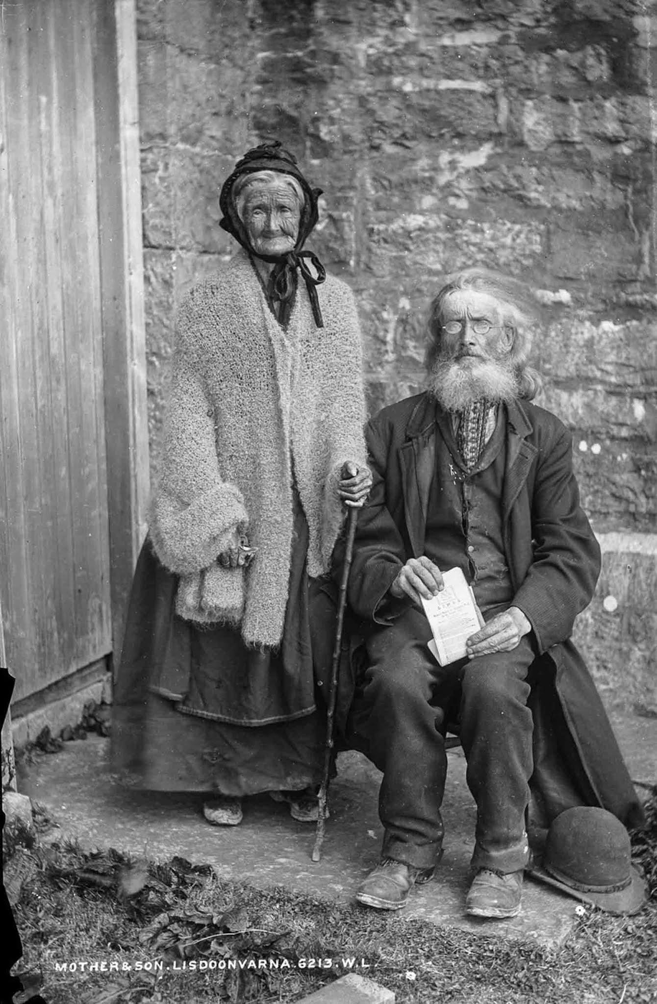 Gente de la vieja Irlanda en fotografías raras, 1885-1925