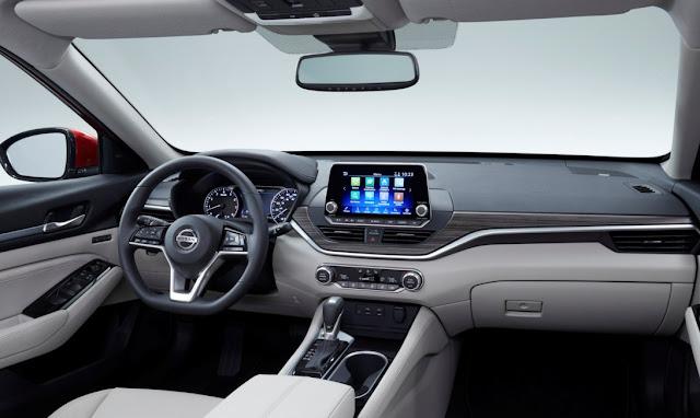 2019 Nissan Altima Interior Colors