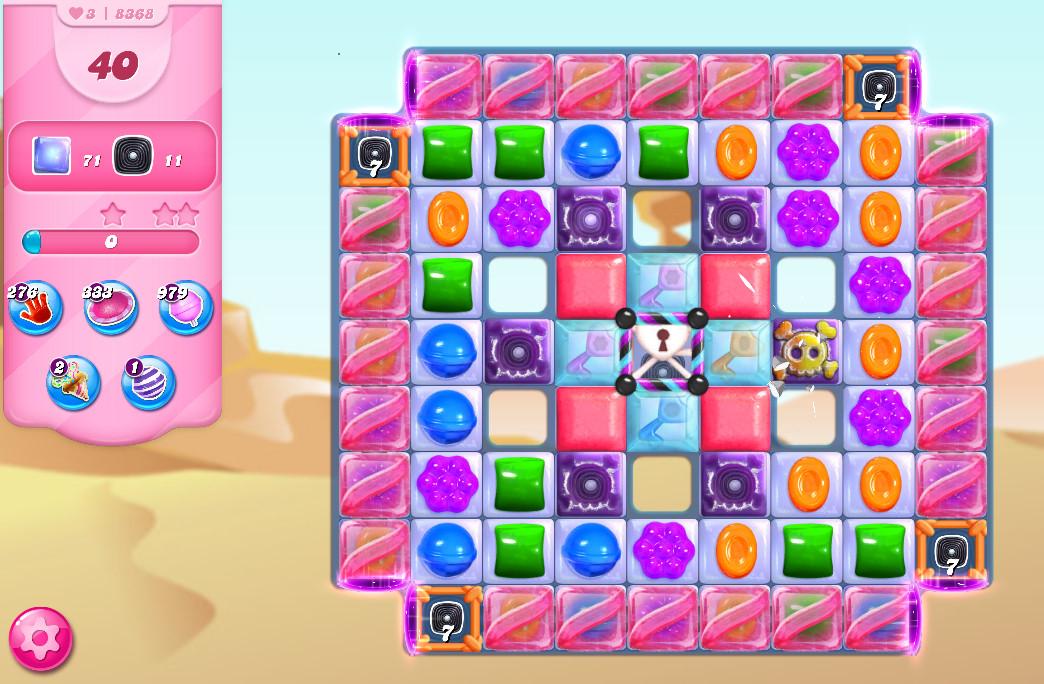 Candy Crush Saga level 8368