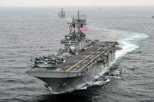 Drone Iran Berhasil Dihancurkan Oleh Kapal Perang AS Di Selat Hormuz