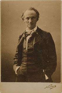 φωτογραφία ο Μπωντλαίρ, του Nadar το 1855