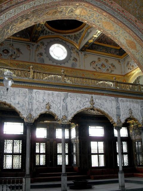 Habitaciones del Harem en Palacio Topkapi