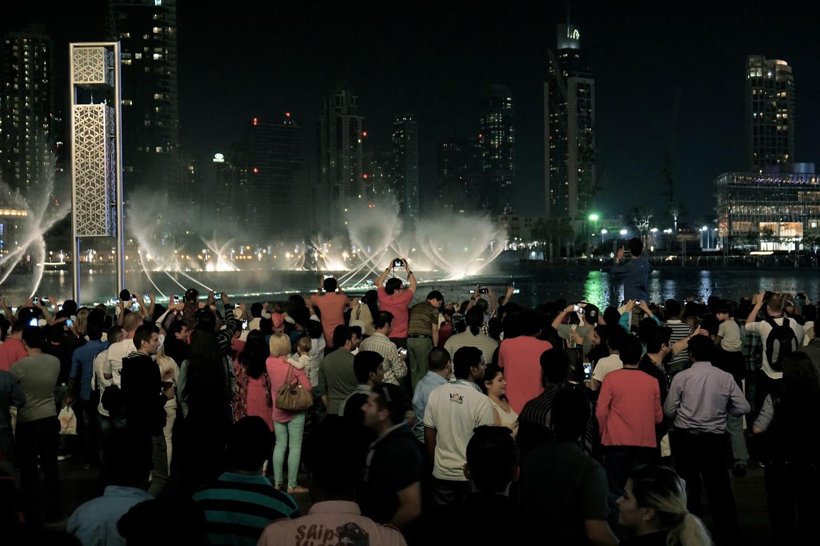 ドバイ ファウンテン(Dubai Fountain)