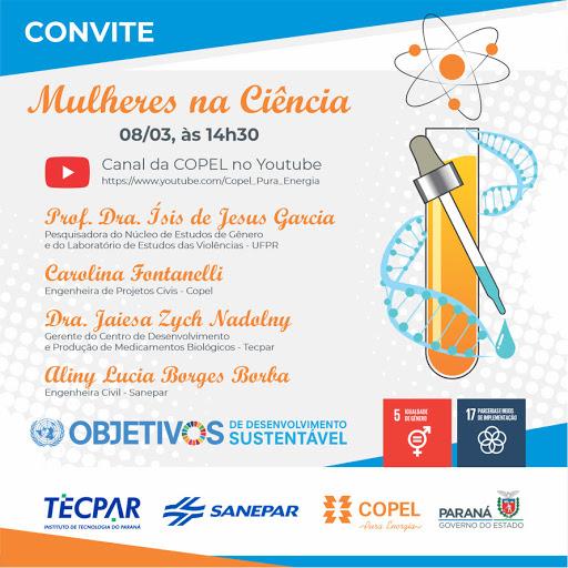 Copel: Evento debate participação das mulheres na ciência