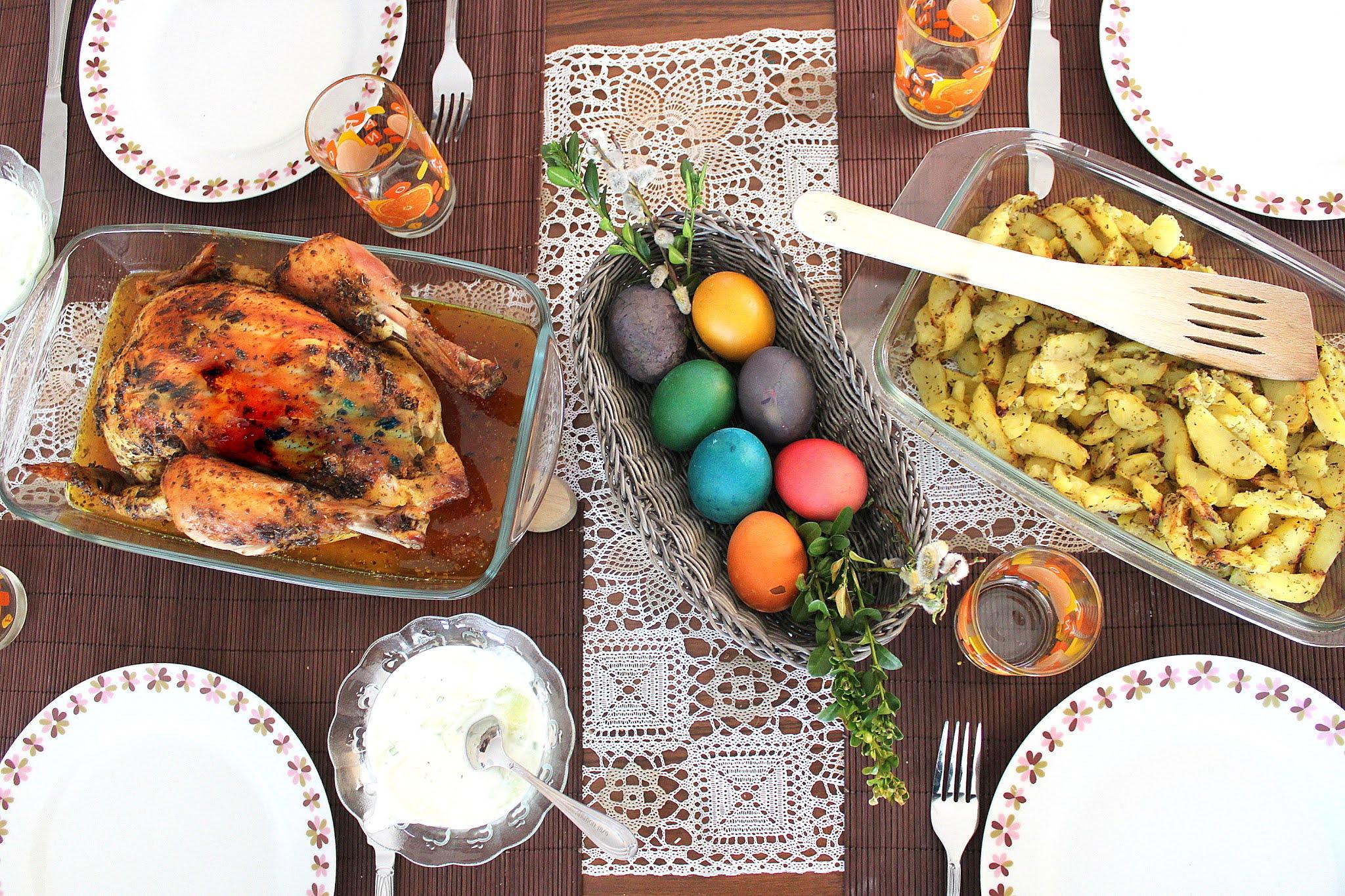 Czy kurczak zagrodowy jest odpowiedni na obiad wielkanocny?