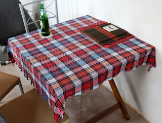 This table cloth was given us by Venko
