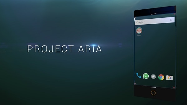 smartphone conceitual - Projeto Aria