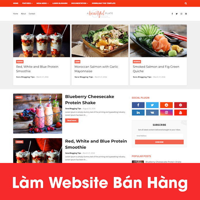 [A121] Dịch vụ nhà hàng nên thiết kế website ở đâu đẹp, uy tín nhất