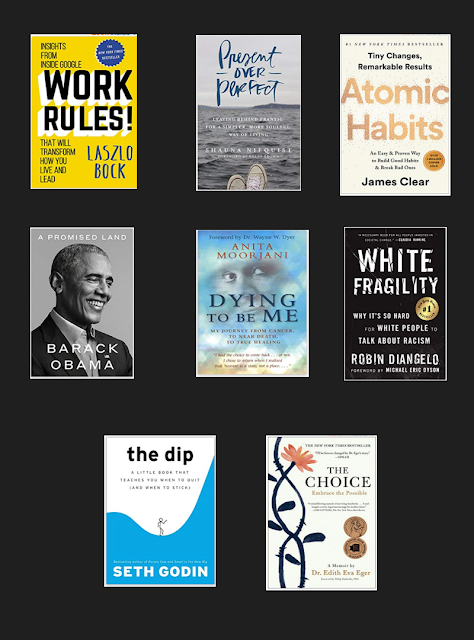 Here Is A List of The Books I Enjoyed Reading in 2020