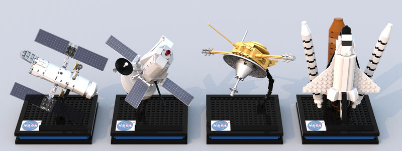 NASA宇宙船コレクション:NASA Spacecraft Achieves
