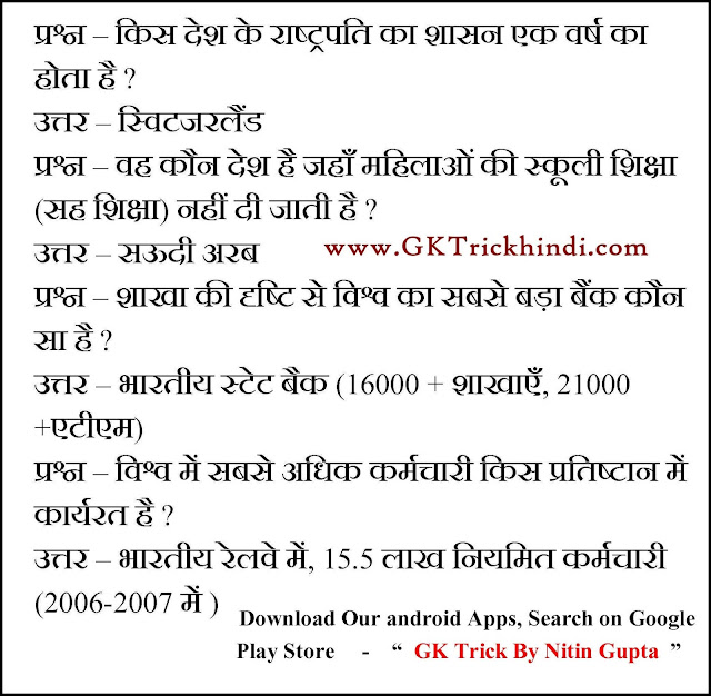 gk multiple choice questions with answers in hindi