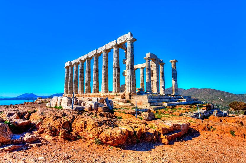 Temple of Poseidon Sounion 12