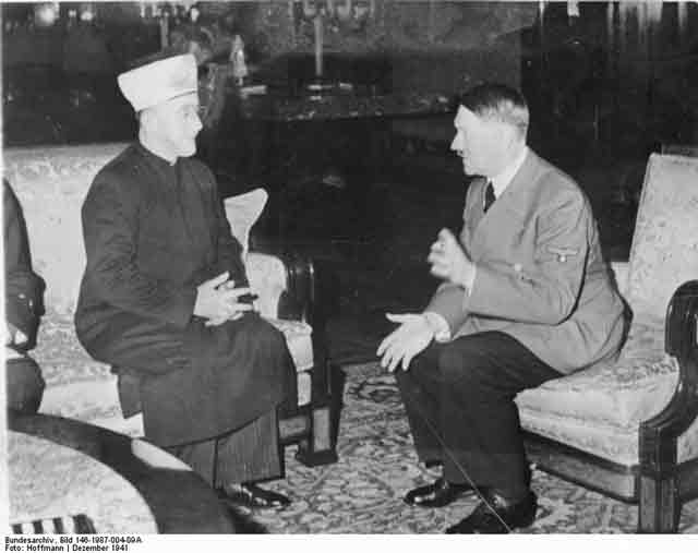 Hitler and Grand Mufti, 28 November 1941 worldwartwo.filminspector.com