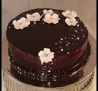 Decoration With Chocolate Glaze