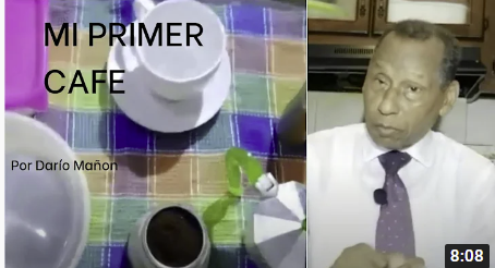 Darío Mañón inicia comentarios a través de youtube desde la cocina de su hogar