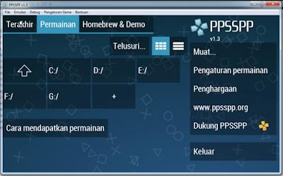 Cara Bermain Game PSP di PC Dengan Mudah