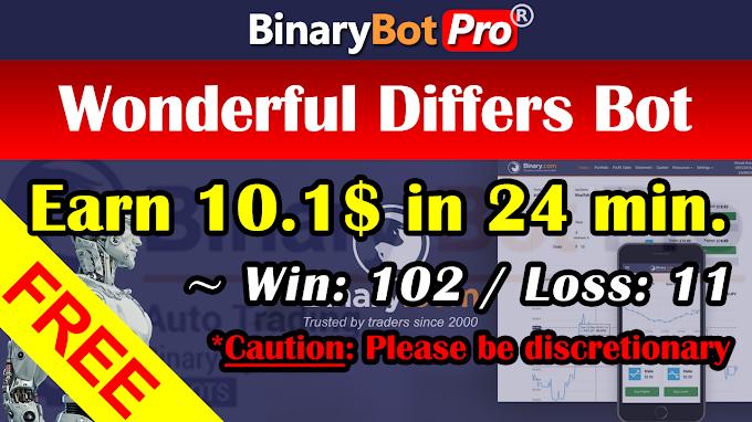 Wonderful Differs Bot (13-Jan-2021)   Binary Bot   Free Download